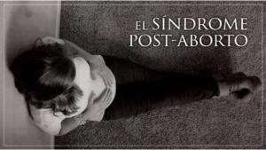 síndrome post aborto