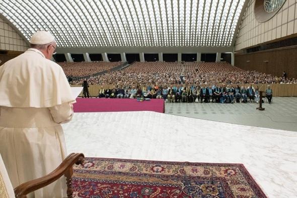 Papa Francisco ante los luteranos